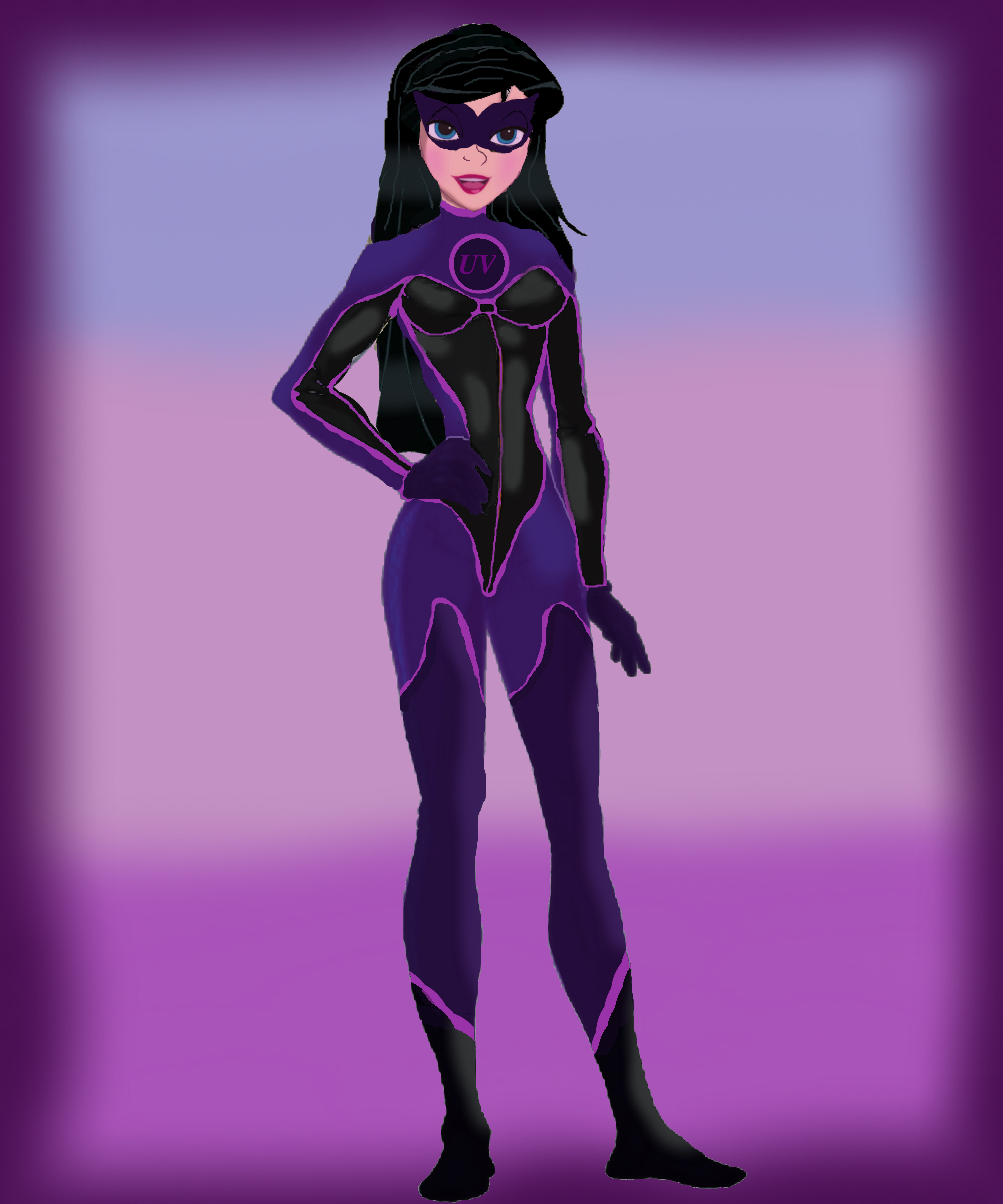 Adult Violet - The Incredibles