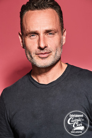 Andrew Lincoln ~ EW SDCC 2018 Portrait