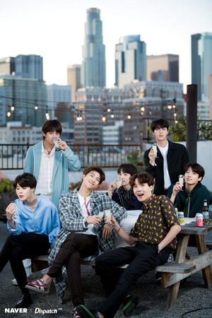BTS X DISPATCH FOR BTS' 5TH ANNIVERSARY