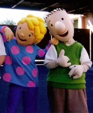 Doug Funnie and Patti Mayonnaise