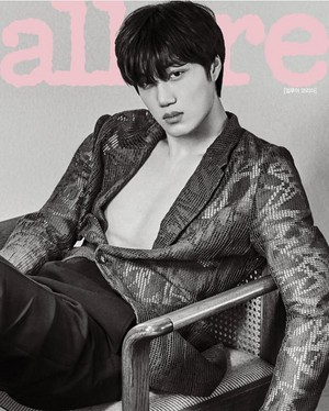 EXO  Kai For Allure  Magazine August Issue 2018