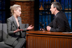 Emilia Clarke's appearance on 'Late Night With Seth Meyers'