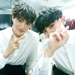 KAI and CHANYEOL