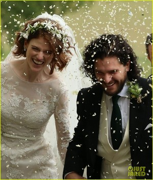 Kit Harington and Rose Leslie Are Married