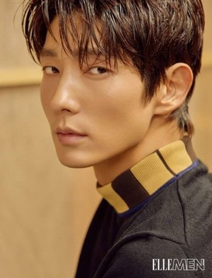 "Lee Joon Gi for "" ELLE MEN ""Hong Kong"
