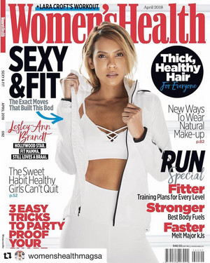 Lesley-Ann Brandt - Women's Health South Africa Cover - 2018