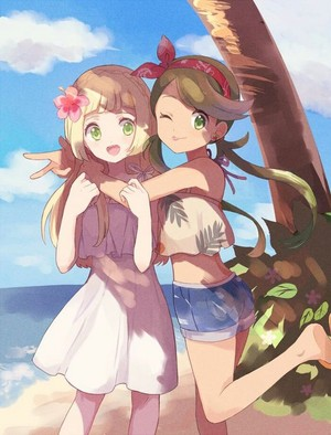 Lillie and Mallow