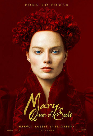 Margot Robbie as Queen Elizabeth I in Mary Queen of Scots