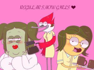 Regular Show Girls