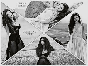 Selena Gomez - Come and Get It wallpaper
