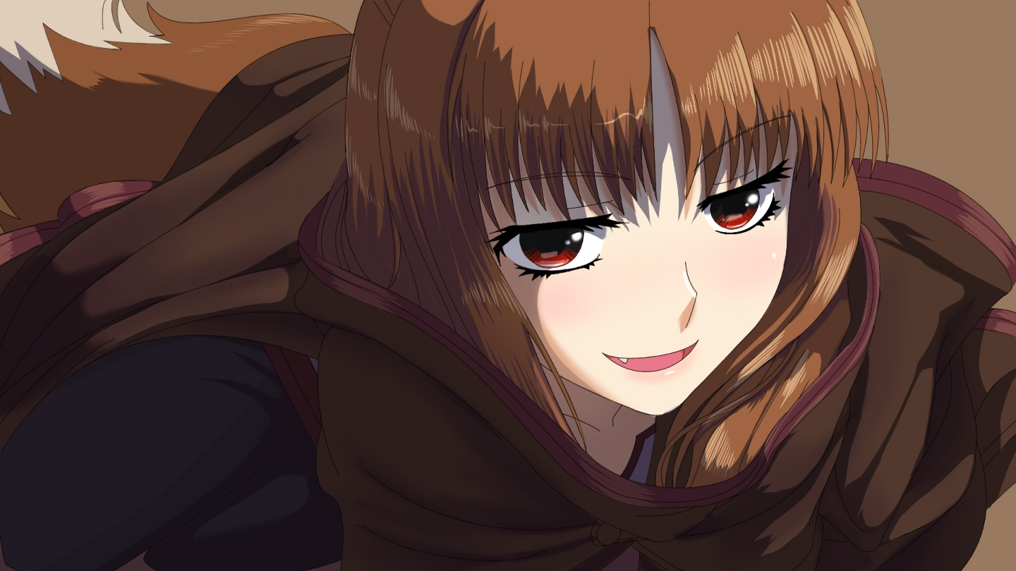 Spice And Wolf Spice And Wolf Wallpaper 41407322 Fanpop