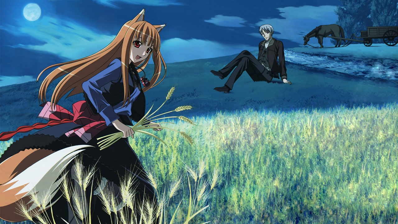 Spice And Wolf Spice And Wolf Wallpaper 41407325 Fanpop