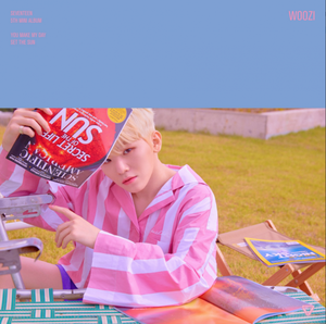 Woozi individual teaser image for 'You Make My Day'
