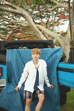BTS summer trip to Saipan