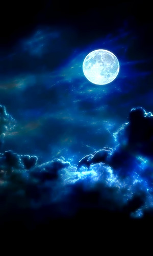 Beautiful Moonlight Background