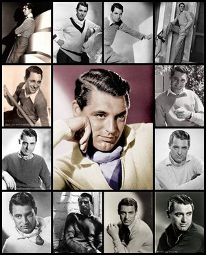 Cary Grant collage