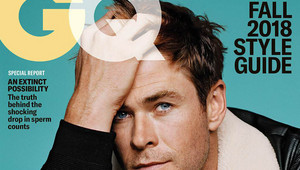 Chris Hemsworth GQ Sept 2018 photoshoot