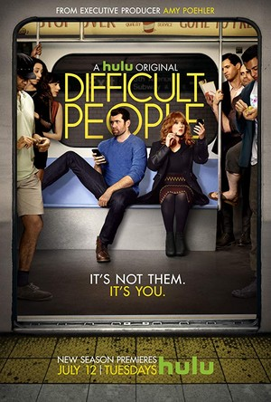 Difficult People - Poster