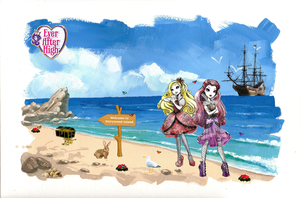 Ever After High - Fairywood Vacation (Concept Art)