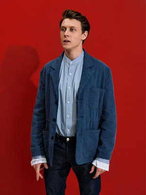 George MacKay - The Last Magazine Photoshoot - 2016