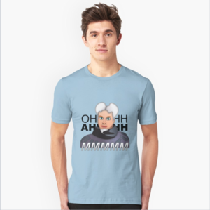 Mugatu Will Ferrell T-shirt design