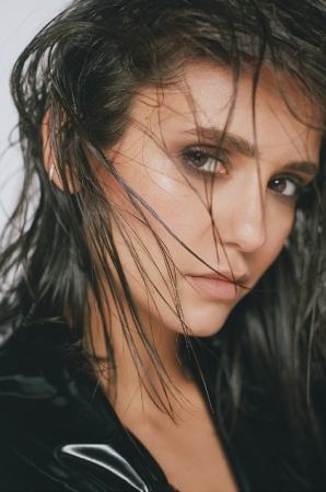 Nina Dobrev photoshoot for Byrdie Beauty