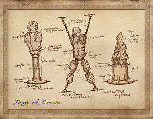Oblivion Concept Art - Training Tools