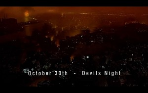 October 30 (called Devil's Night)