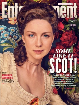 Outlander - Claire Fraser at Entertainment Weekly Cover