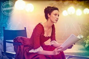 Outlander - Claire Fraser at Entertainment Weekly Photoshoot