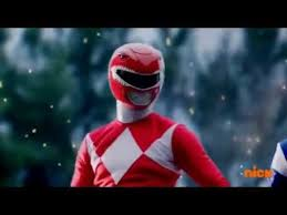 Rocky Morphed As The MM Red Ranger 2