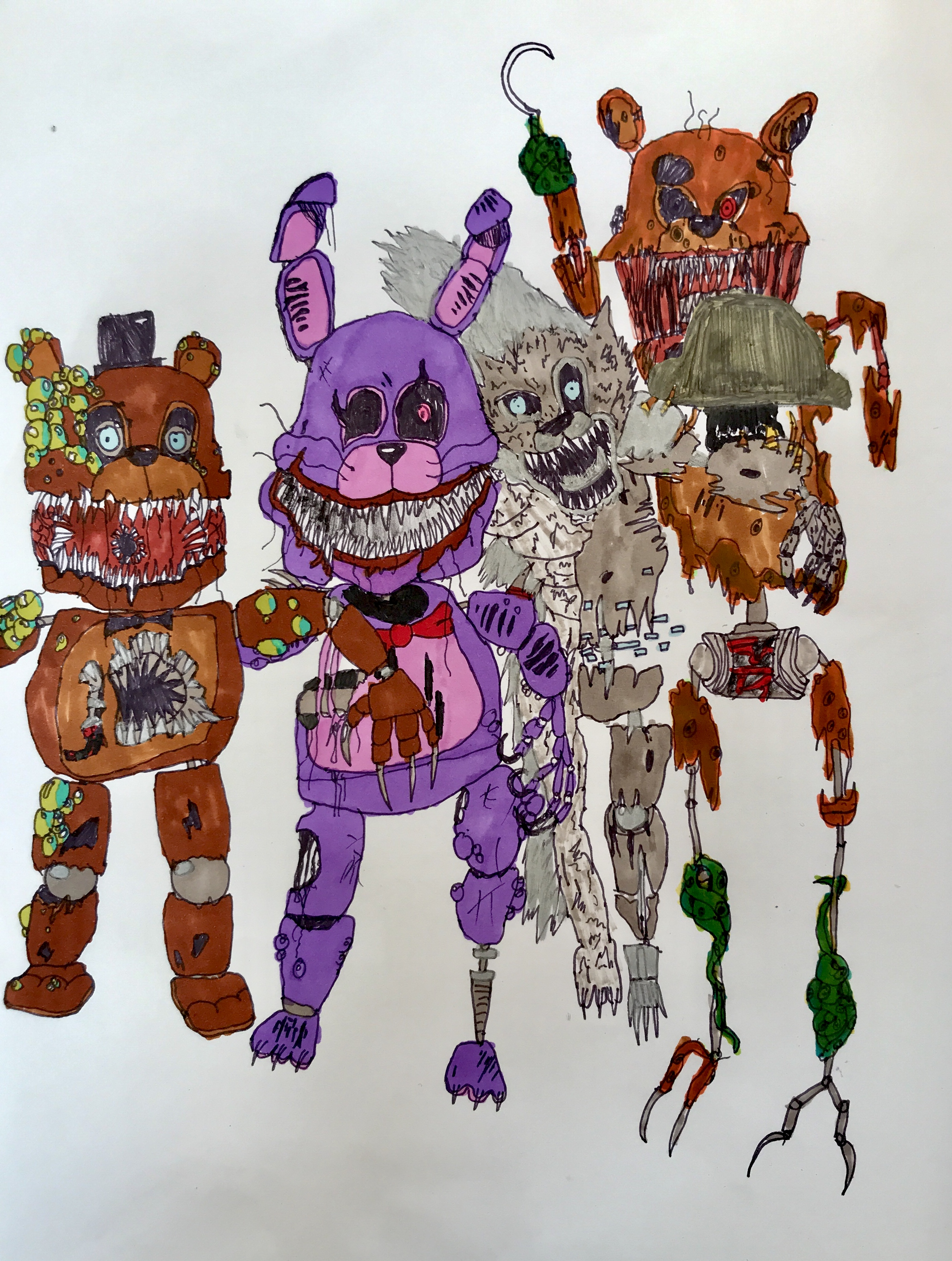 5 Nights At Foxys the twisted ones - five nights at freddy's photo (41579316