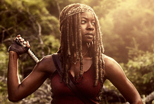 The Walking Dead - Season 9 Portrait - Michonne