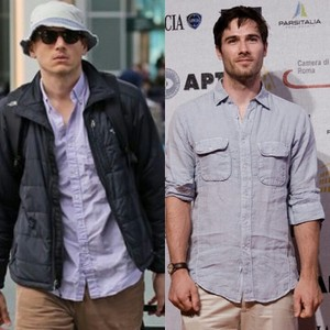 luke macfarlane and wentworth miller-fashion style