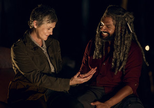 9x02 ~ The Bridge ~ Carol and Ezekiel