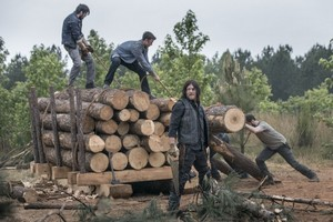 9x02 ~ The Bridge ~ Daryl and Aaron