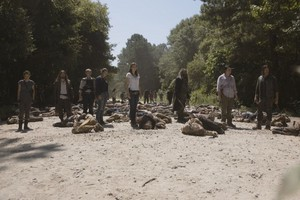 9x05 ~ What Comes After ~ Rosita, Jesus, Carol, Tara, Maggie, Ezekiel, Eugene and Daryl