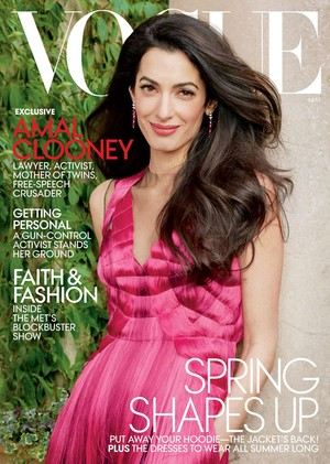 Amal Clooney for Vogue US [May 2018]