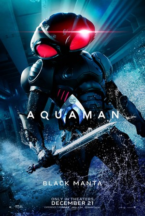 Aquaman (2018) Character Poster - Yahya Abdul-Mateen II as David Kane/Black Manta