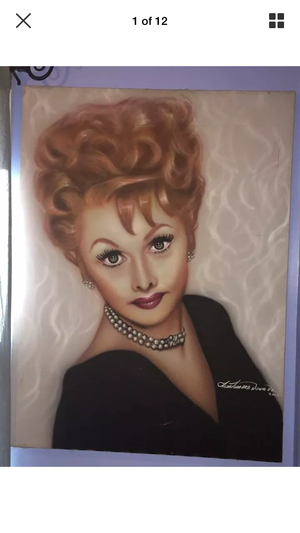 Lucille Ball Painting 💕