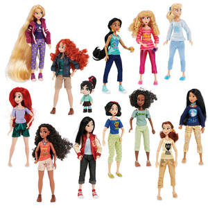 디즈니 Princess Casual Doll Set - From Wreck it Ralph 2