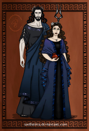 Gods Of Ancient Greece Couples Hades and Persephone