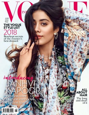 Janvhi Kapoor for Vogue India [Cover]
