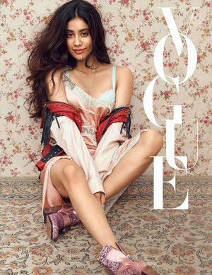 Janvhi Kapoor for Vogue India [June 2018]