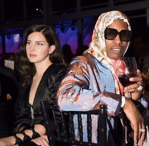 Lana and ASAP Rocky