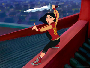 mulan in her WiR2 casual attire