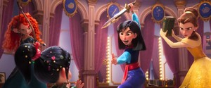 New Ralph Breaks th Internet Princesses image
