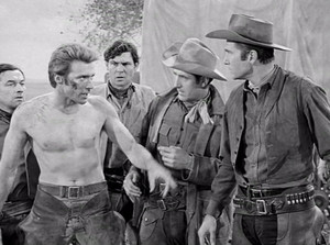 Rawhide ~Clint as Rowdy ~ Eric Fleming as Gil Favor ~ Sheb Wooley as Pete Nolan (1959-1965)
