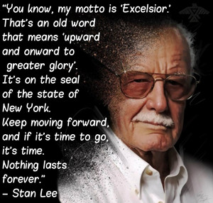 Stan Lee Quote (1922-2018)