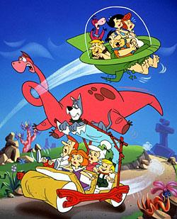 The Jetsons And The Flintstones